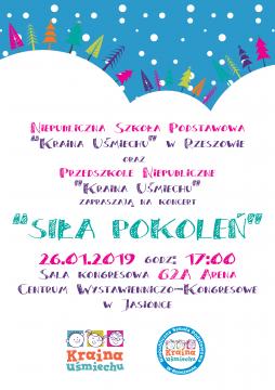 plakat koncert NSPJU